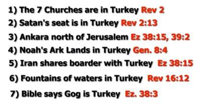 Gog Magog is Turkey 9 reasons