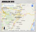 Jerusalem 2015 googlemap