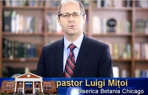 Luigi Mitoi Conventia Bisericilor Penticostale 2016