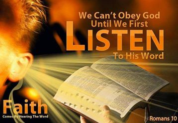 Obey the Bible God