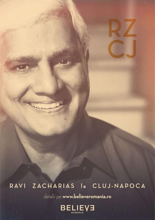 Ravi Zacharias Believe Cluj 2015