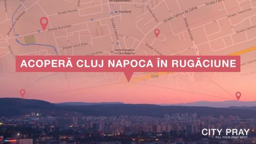 Proiectul City Pray Cluj