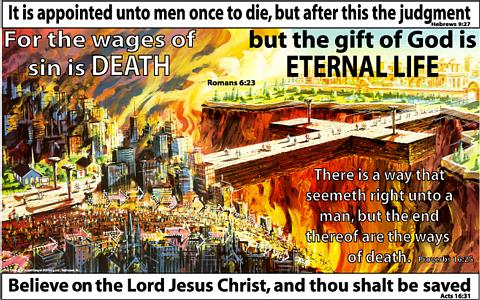 Crede in Isus Hristos si vei fi mantuit! Citeste Romani 8:23 Photo www.jesus-is-savior.com