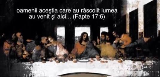 Cei 12 Isus Cina cea de Taina captura Credo TV Da Vinci