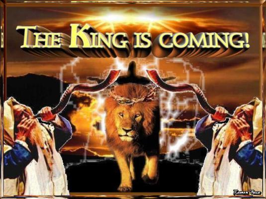 King Jesus Coming Israel