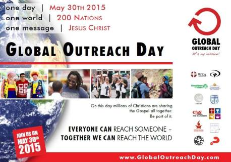 Global Outreach Day Evanghelizare
