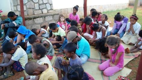 Scoala Biblica de Copii 'Vestea Buna' din Antsirabe Photo Marcel Saitis