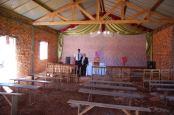 Cladirea Bisericii din Ambohimandroso in interior - o lucrare bine facuta, care va fi finisata in urmatoarele doua saptamani. Va multumim tuturor celor care ati fost alaturi de noi in aceasta lucrare fie prin rugaciuni, fie prin incurajari sau chiar prin ajutor financiar. Dumnezeu sa va rasplateasca! Photo Marcel Saitis