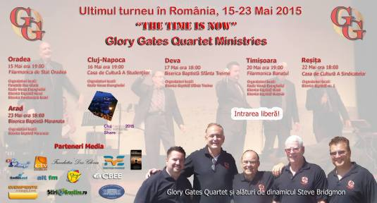 Glory Gates Quartet Romania 2015