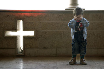 Persecutia copiilor in Orientul Mijlociu. Photo