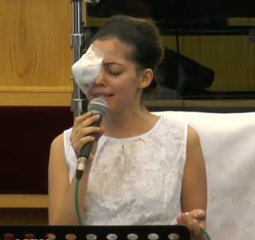 Magda Popescu cantand de Rusalii