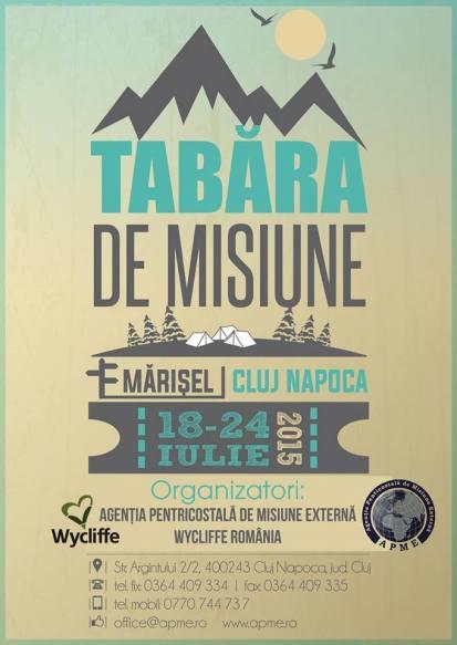 Tabara de Misiune 2015!