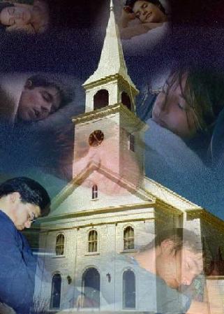 Biserica Church asleep