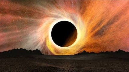 Black hole in SPACE,universe