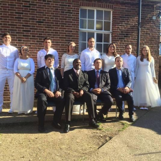 Botez Biserica Peniel Londra 19 iulie 2015