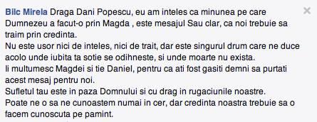 Magda Popescu coment