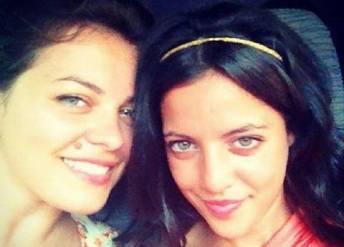Magda Popescu cu Daniela Miriam Berbece