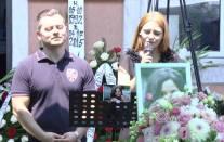MAGDA POPESCU Inmormantare Alin si Florina Jivan