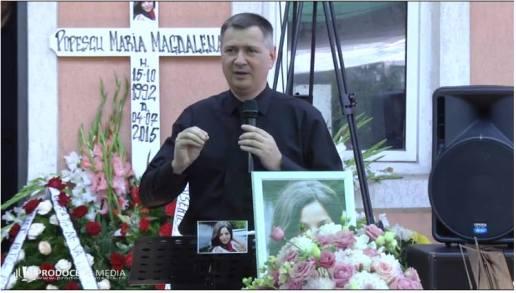 MAGDA POPESCU Inmormantare Florin Ianovici