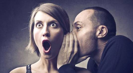 malicious gossip young man woman lies