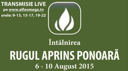 Urmareste LIVE Rugul Aprins Ponoara 2015