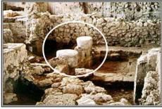 Templu de filisteni descoperit in Gath iulie 2015