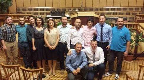 Grup Betel Florin Ianovici Botez Evanghelizare in Ucraina august 2015