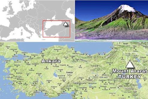 arca lui Noe Muntele Ararat