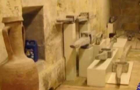 Astazi, ancorele se afla intr-un muzeu maritim in Malta