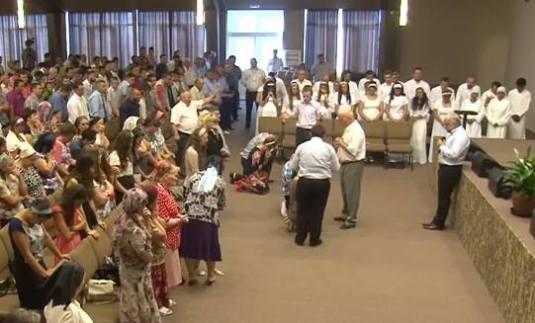 Botez Nou Testamental Ciresarii 9 august 2015
