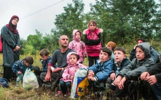 Refugiati Sirieni din Serbia Foto- Mircea Barbu Adevarul.ro