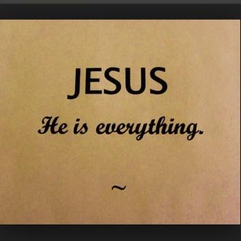 ISUS, El este totul.