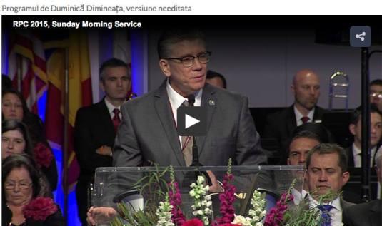 Cea de-a 47-a Conventie a Bisericilor Penticostale USA si Canada, Detroit 2015 - 2