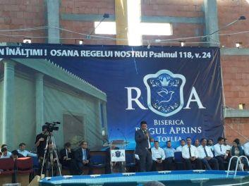 Botez la Toflea - Mesaj Nicolae GEANTĂ
