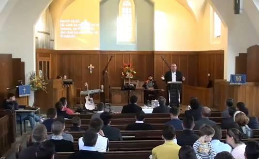 Photo captura Program 04 Octombrie 2015 Marturie Mihai Costinas Biserica Peniel Londra
