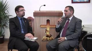 Marius C. Cimpoae împreună cu pastor Cristian Florea