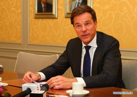 Premierul Olandez Mark Rutte Photo