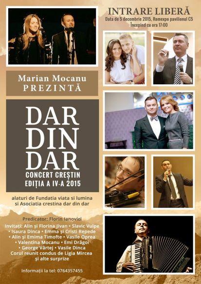 Concert Caritabil Dar din Dar