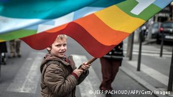 copil kid rainbow flag