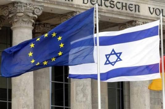 Israel, Uniunea Europeana, flag