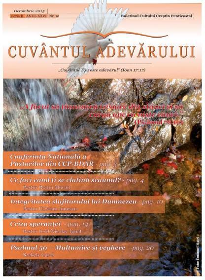 Revista Cuvantul Adevaruui octombrie 2015