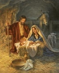 Jesus birth Christmas