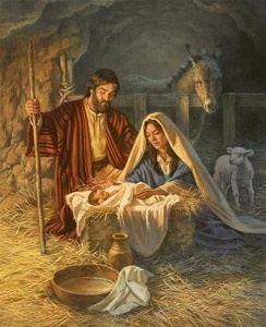 Jesus birth Christmas