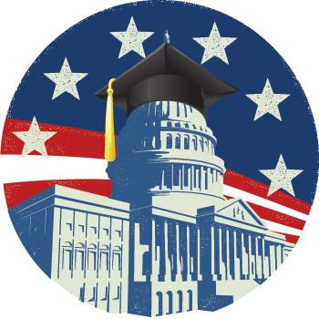 American education, capitol, graduation