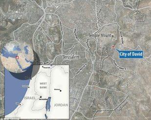 City of David Jerusalem Acra greek fortress