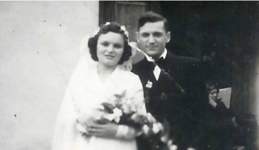 Petru Pitt Popovici si Hortenzia Popovici 24 Octombrie 1945 (Photo GRBC)