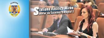 Steliana Vasilica Miron, senatoare (SUCEAVA)