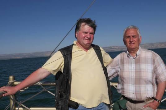 Pastor Alexandru Talos si Cristi Tepes Photo Prodocens Media