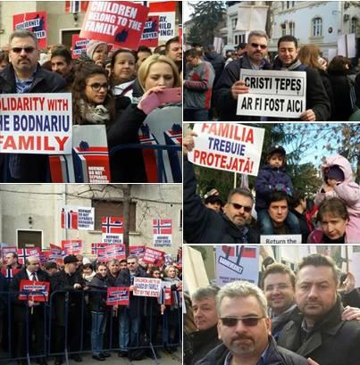 C Soimaru - Protest Barnevernet cazul Bodnariu 19 dec 15