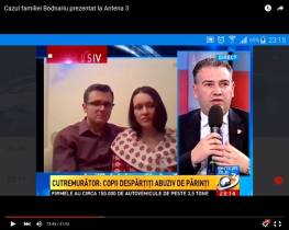 Cazul Bodnariu la Antena 3 cu Ben Oni Ardelean